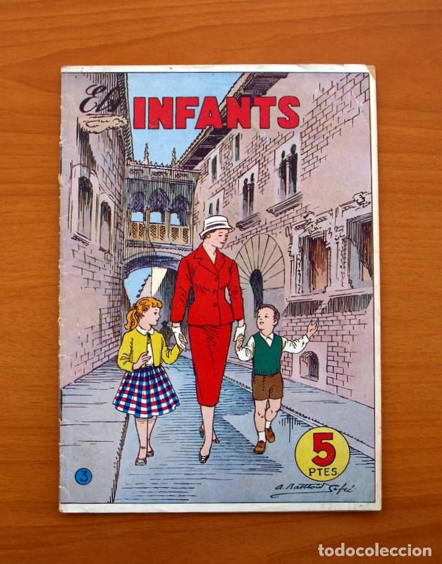 ELS INFANTS, Nº 3 - EDITORIAL HISPANO AMERICANA 1956 - TAMAÑO 24X17 (Tebeos y Comics - Hispano Americana - Otros)