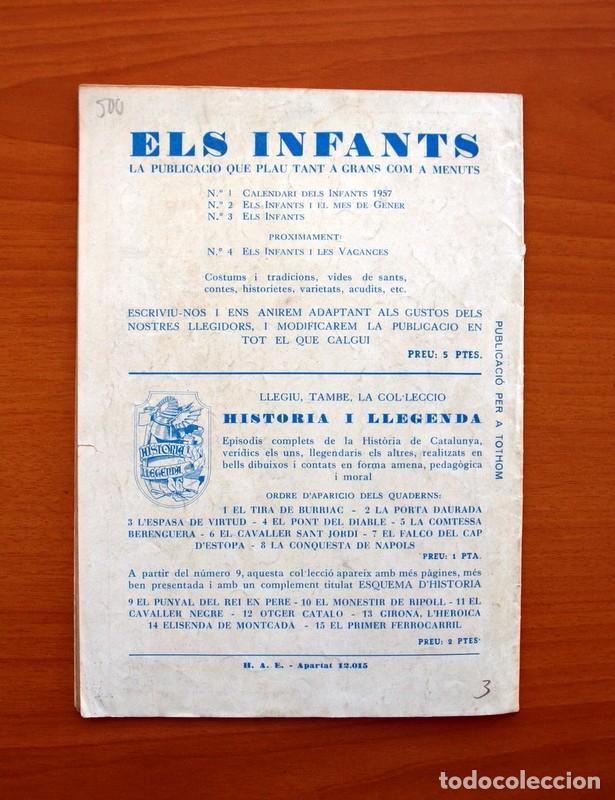 Tebeos: Els Infants, nº 3 - Editorial Hispano Americana 1956 - Tamaño 24x17 - Foto 7 - 98212115