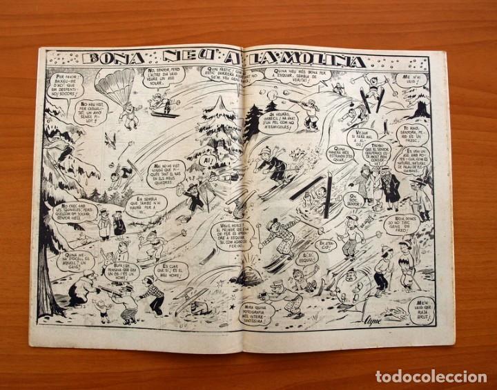 Tebeos: Els Infants i el mes de Gener, nº 2 - Editorial Hispano Americana 1956 - Tamaño 24x17 - Foto 4 - 98212207