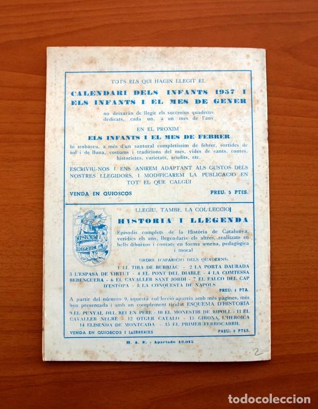 Tebeos: Els Infants i el mes de Gener, nº 2 - Editorial Hispano Americana 1956 - Tamaño 24x17 - Foto 7 - 98212207