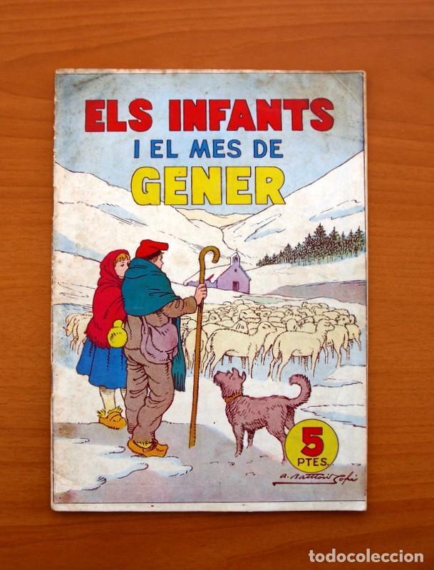 ELS INFANTS I EL MES DE GENER, Nº 2 - EDITORIAL HISPANO AMERICANA 1956 - TAMAÑO 24X17 (Tebeos y Comics - Hispano Americana - Otros)
