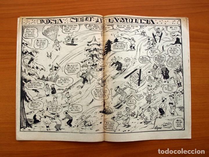 Tebeos: Els Infants i el mes de Gener, nº 2 - Editorial Hispano Americana 1956 - Tamaño 24x17 - Foto 4 - 98212239