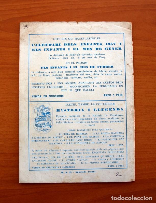 Tebeos: Els Infants i el mes de Gener, nº 2 - Editorial Hispano Americana 1956 - Tamaño 24x17 - Foto 7 - 98212239