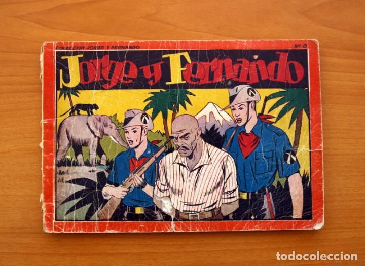 JORGE Y FERNANDO ÁLBUM, Nº 6 - EDITORIAL HISPANO AMERICANA 1944 - TAMAÑO 17X24 (Tebeos y Comics - Hispano Americana - Jorge y Fernando)