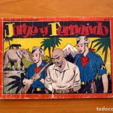 Tebeos: JORGE Y FERNANDO ÁLBUM, Nº 6 - EDITORIAL HISPANO AMERICANA 1944 - TAMAÑO 17X24. Lote 98212771