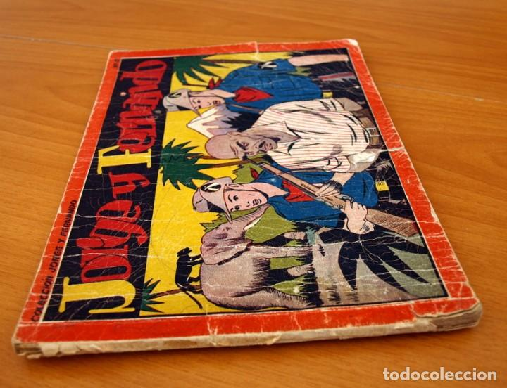 Tebeos: Jorge y Fernando álbum, nº 6 - Editorial Hispano Americana 1944 - Tamaño 17x24 - Foto 2 - 98212771