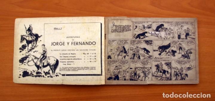 Tebeos: Jorge y Fernando álbum, nº 6 - Editorial Hispano Americana 1944 - Tamaño 17x24 - Foto 3 - 98212771