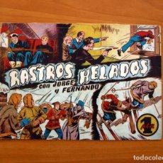 Tebeos: JORGE Y FERNANDO Nº 89, RASTROS HELADOS - EDITORIAL HISPANO AMERICANA 1940 - TAMAÑO 17X24. Lote 98213231