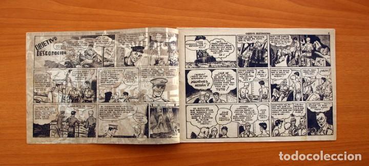 Tebeos: Jorge y Fernando nº 78, Objetivo desconocido - Editorial Hispano Americana 1940 - Tamaño 17x24 - Foto 2 - 98213695