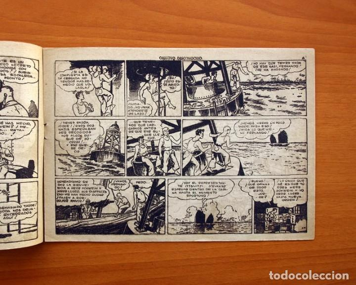 Tebeos: Jorge y Fernando nº 78, Objetivo desconocido - Editorial Hispano Americana 1940 - Tamaño 17x24 - Foto 3 - 98213695