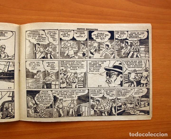 Tebeos: Jorge y Fernando nº 78, Objetivo desconocido - Editorial Hispano Americana 1940 - Tamaño 17x24 - Foto 4 - 98213695