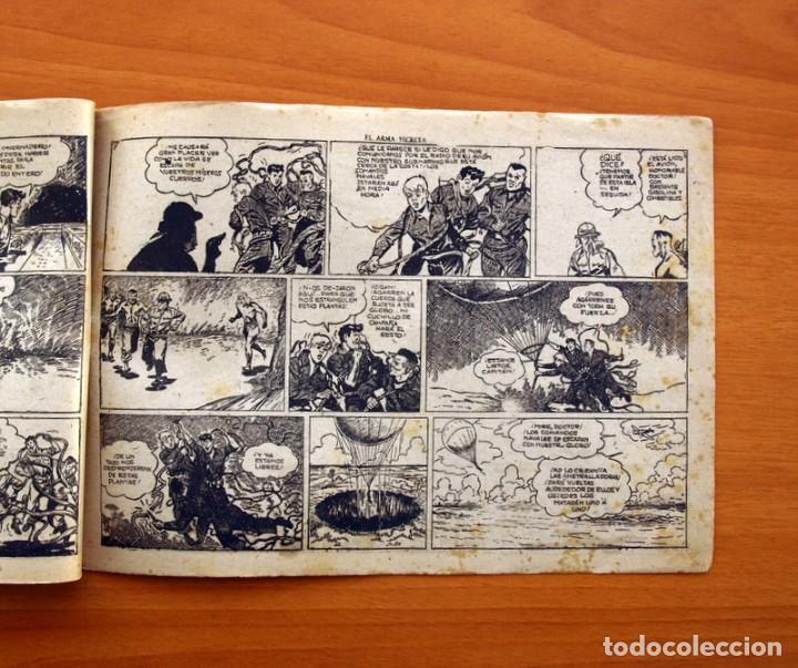 Tebeos: Jorge y Fernando nº 63, El arma secreta - Editorial Hispano Americana 1940 - Tamaño 17x24 - Foto 4 - 98217031