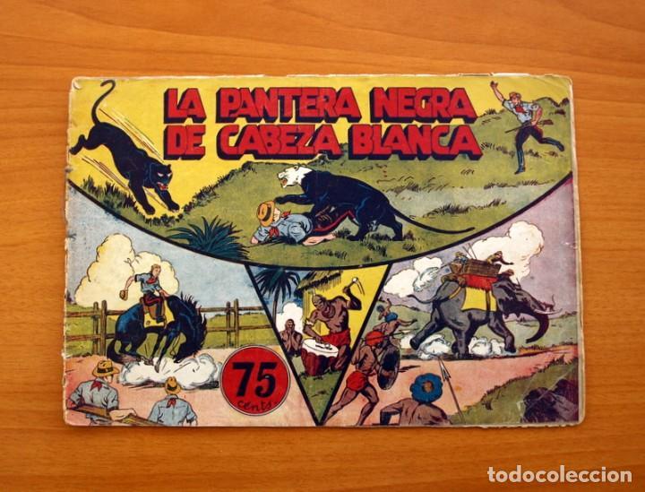 JORGE Y FERNANDO Nº 27, LA PANTERA NEGRA DE CABEZA BLANCA - HISPANO AMERICANA 1940 - TAMAÑO 17X24 (Tebeos y Comics - Hispano Americana - Jorge y Fernando)