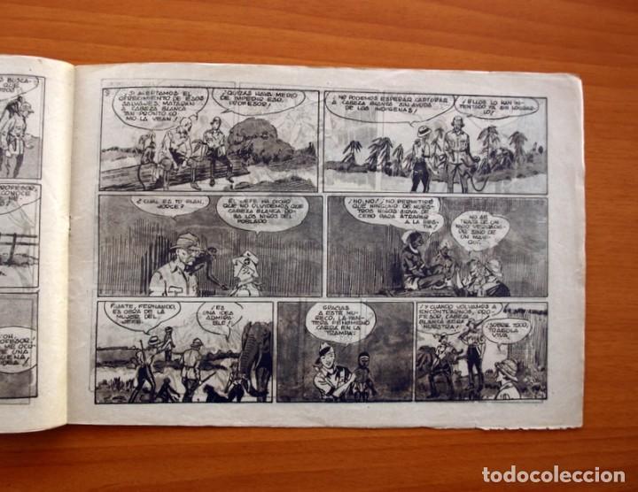 Tebeos: Jorge y Fernando nº 27, La pantera negra de cabeza blanca - Hispano Americana 1940 - Tamaño 17x24 - Foto 4 - 98217575