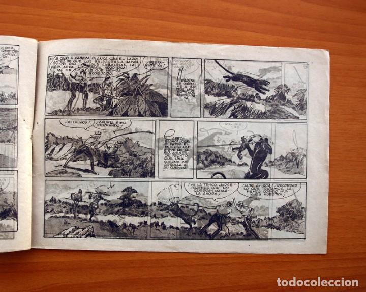 Tebeos: Jorge y Fernando nº 27, La pantera negra de cabeza blanca - Hispano Americana 1940 - Tamaño 17x24 - Foto 5 - 98217575