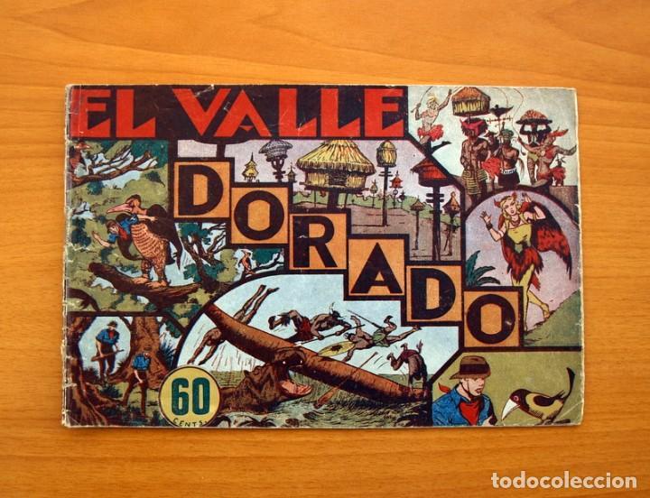 JORGE Y FERNANDO Nº 16, EL VALLE DORADO - HISPANO AMERICANA 1940 - TAMAÑO 17X24 (Tebeos y Comics - Hispano Americana - Jorge y Fernando)