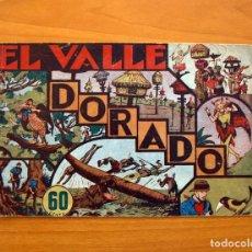 Tebeos: JORGE Y FERNANDO Nº 16, EL VALLE DORADO - HISPANO AMERICANA 1940 - TAMAÑO 17X24. Lote 98218415