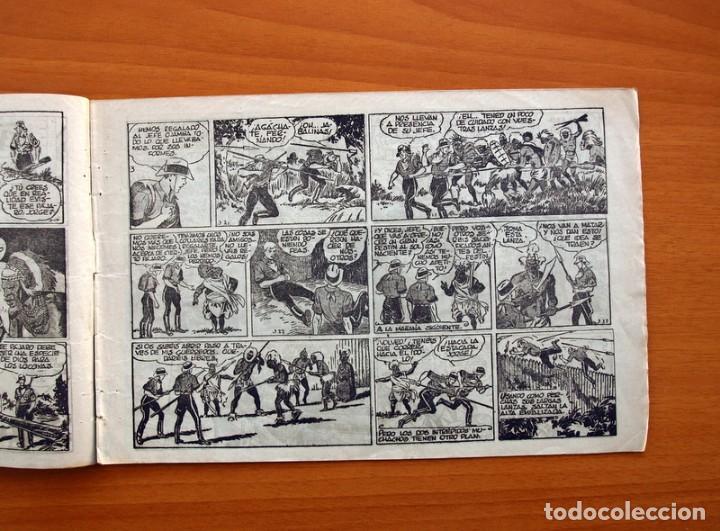 Tebeos: Jorge y Fernando nº 16, El valle dorado - Hispano Americana 1940 - Tamaño 17x24 - Foto 3 - 98218415
