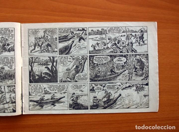 Tebeos: Jorge y Fernando nº 16, El valle dorado - Hispano Americana 1940 - Tamaño 17x24 - Foto 4 - 98218415
