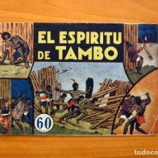 Tebeos: JORGE Y FERNANDO Nº 13, EL ESPIRITU DE TAMBO - HISPANO AMERICANA 1940 - TAMAÑO 17X24. Lote 98218767