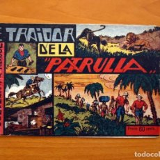 Tebeos: JORGE Y FERNANDO Nº 12, EL TRAIDOR DE LA PATRULLA - HISPANO AMERICANA 1940 - TAMAÑO 17X24. Lote 98219231