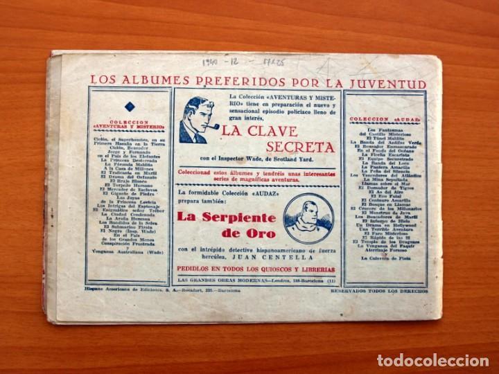 Tebeos: Jorge y Fernando nº 12, El traidor de la patrulla - Hispano Americana 1940 - Tamaño 17x24 - Foto 7 - 98219231