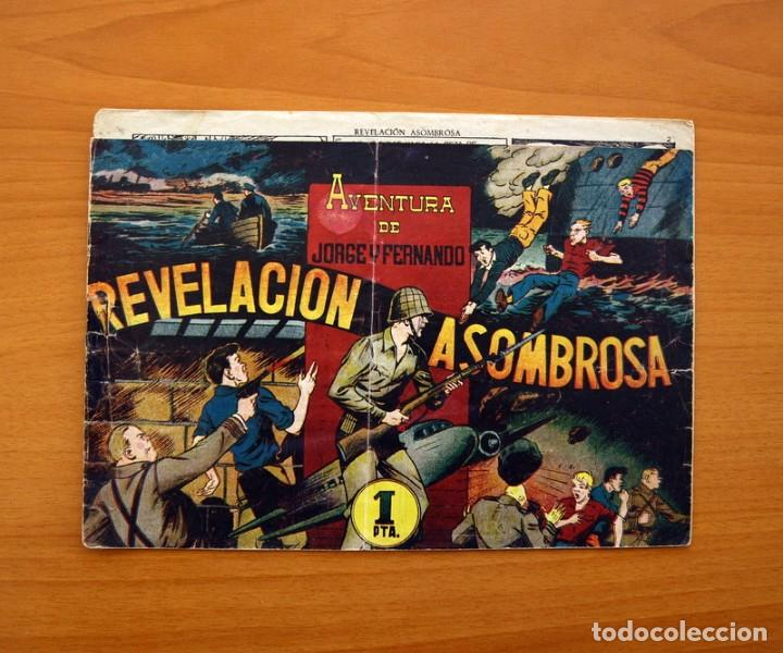 JORGE Y FERNANDO Nº 76, REVELACIÓN ASOMBROSA - HISPANO AMERICANA 1940 - TAMAÑO 17X24 (Tebeos y Comics - Hispano Americana - Jorge y Fernando)