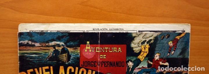 Tebeos: Jorge y Fernando nº 76, Revelación asombrosa - Hispano Americana 1940 - Tamaño 17x24 - Foto 2 - 98219531