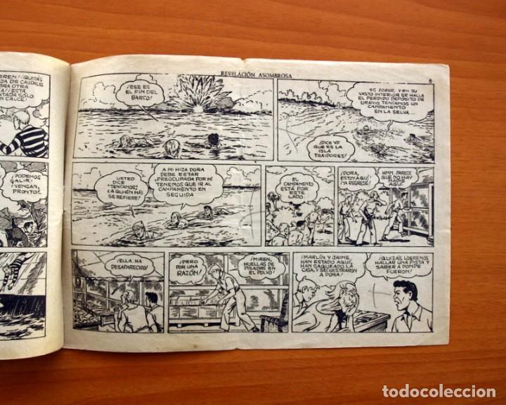 Tebeos: Jorge y Fernando nº 76, Revelación asombrosa - Hispano Americana 1940 - Tamaño 17x24 - Foto 5 - 98219531