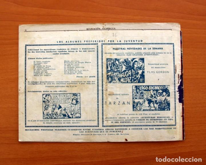 Tebeos: Jorge y Fernando nº 76, Revelación asombrosa - Hispano Americana 1940 - Tamaño 17x24 - Foto 7 - 98219531