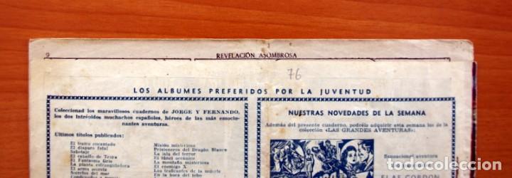 Tebeos: Jorge y Fernando nº 76, Revelación asombrosa - Hispano Americana 1940 - Tamaño 17x24 - Foto 8 - 98219531