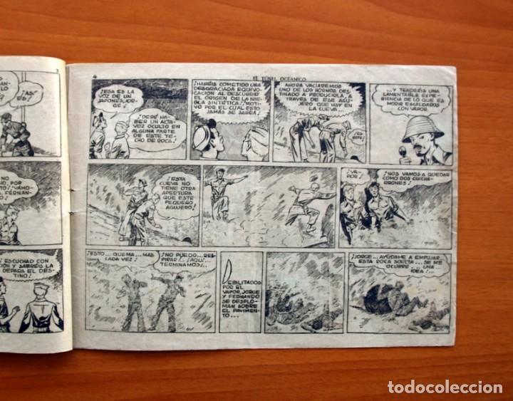 Tebeos: Jorge y Fernando, nº 70, El túnel oceánico - Editorial Hispano Americana 1940 - Tamaño 17x24 - Foto 3 - 98220323
