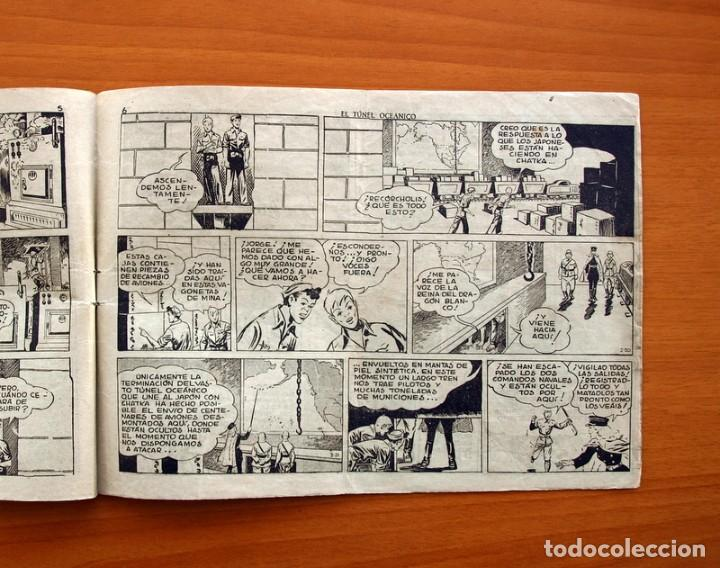 Tebeos: Jorge y Fernando, nº 70, El túnel oceánico - Editorial Hispano Americana 1940 - Tamaño 17x24 - Foto 4 - 98220323