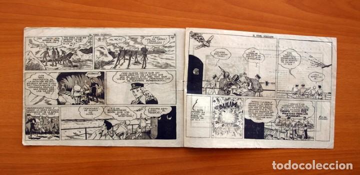 Tebeos: Jorge y Fernando, nº 70, El túnel oceánico - Editorial Hispano Americana 1940 - Tamaño 17x24 - Foto 6 - 98220323