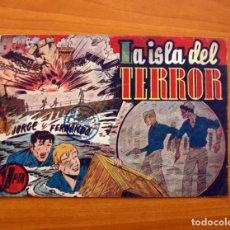 Tebeos: JORGE Y FERNANDO, Nº 69 LA ISLA DEL TERROR - EDITORIAL HISPANO AMERICANA 1940 - TAMAÑO 17X24. Lote 98220627