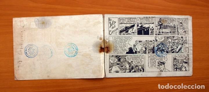 Tebeos: Jorge y Fernando, nº 69 La isla del terror - Editorial Hispano Americana 1940 - Tamaño 17x24 - Foto 2 - 98220627