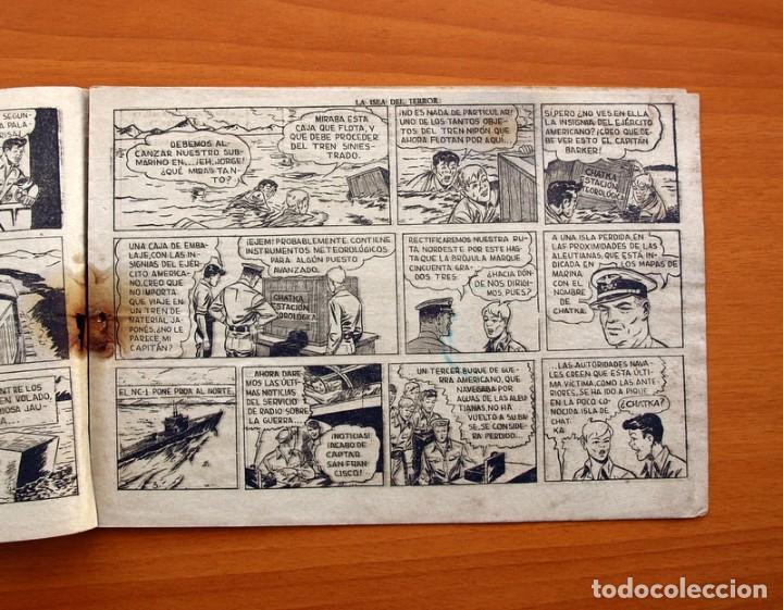 Tebeos: Jorge y Fernando, nº 69 La isla del terror - Editorial Hispano Americana 1940 - Tamaño 17x24 - Foto 3 - 98220627