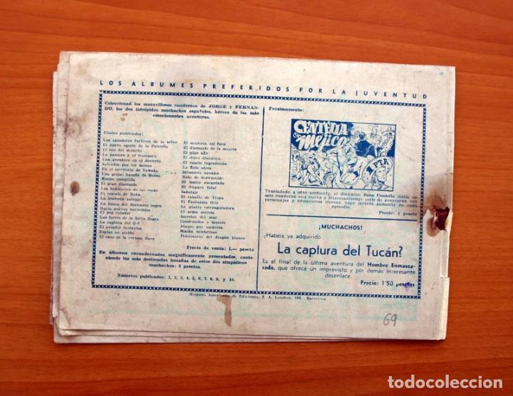 Tebeos: Jorge y Fernando, nº 69 La isla del terror - Editorial Hispano Americana 1940 - Tamaño 17x24 - Foto 7 - 98220627