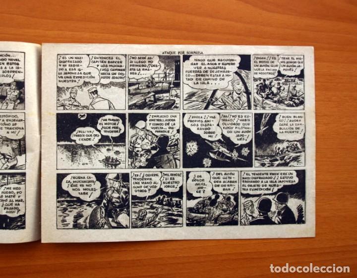 Tebeos: Jorge y Fernando, nº 66, Ataque por sorpresa - Editorial Hispano Americana 1940 - Tamaño 17x24 - Foto 3 - 98221183