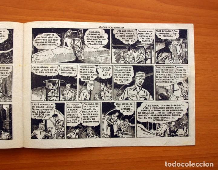 Tebeos: Jorge y Fernando, nº 66, Ataque por sorpresa - Editorial Hispano Americana 1940 - Tamaño 17x24 - Foto 4 - 98221183
