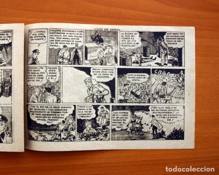 Tebeos: Jorge y Fernando, nº 66, Ataque por sorpresa - Editorial Hispano Americana 1940 - Tamaño 17x24 - Foto 5 - 98221183