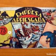Tebeos: JORGE Y FERNANDO, Nº 26 - UNA EMPRESA ARRIESGADA - EDITORIAL HISPANO AMERICANA 1940 - TAMAÑO 17X24. Lote 98222287