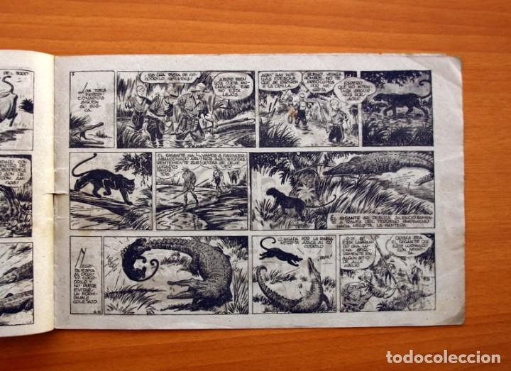 Tebeos: Jorge y Fernando, nº 15 - En el pais de los grandes cocodrilos - Editorial Hispano Americana 1940 - Foto 4 - 98222487