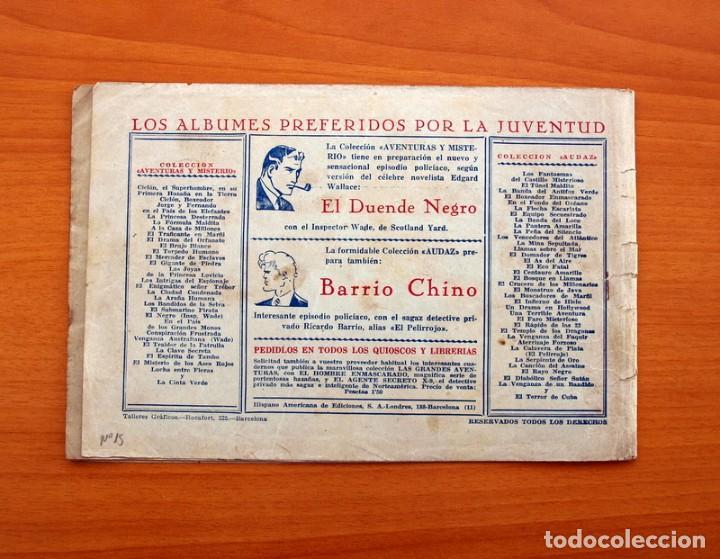 Tebeos: Jorge y Fernando, nº 15 - En el pais de los grandes cocodrilos - Editorial Hispano Americana 1940 - Foto 7 - 98222487