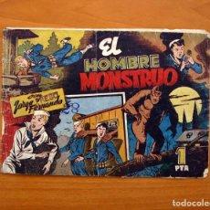 Tebeos: JORGE Y FERNANDO Nº 82, EL HOMBRE MONSTRUO - EDITORIAL HISPANO AMERICANA 1940 - TAMAÑO 17X24. Lote 98222771