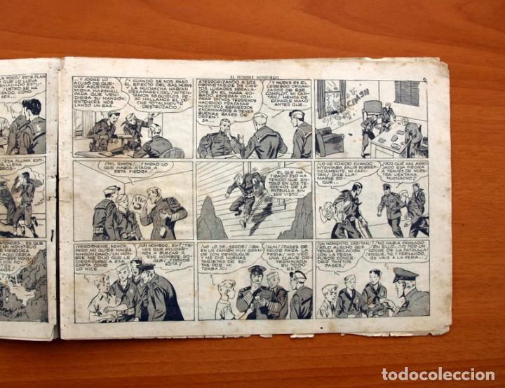 Tebeos: Jorge y Fernando nº 82, El hombre monstruo - Editorial Hispano Americana 1940 - Tamaño 17x24 - Foto 3 - 98222771