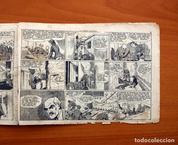 Tebeos: Jorge y Fernando nº 82, El hombre monstruo - Editorial Hispano Americana 1940 - Tamaño 17x24 - Foto 4 - 98222771