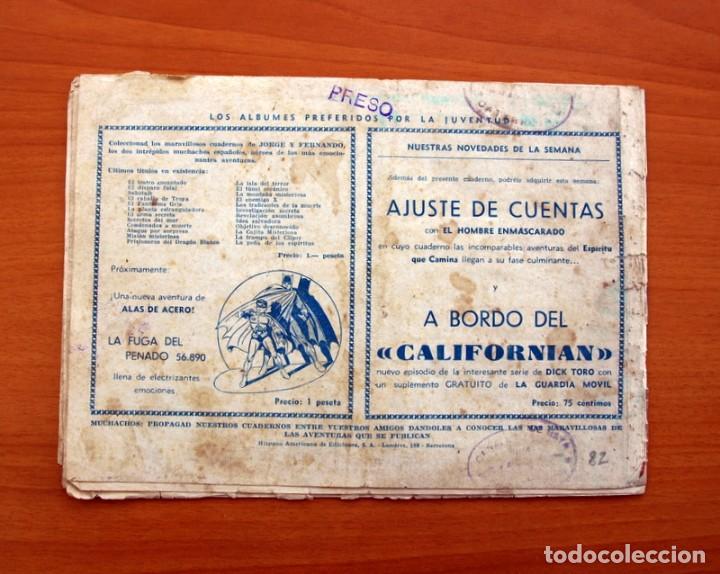 Tebeos: Jorge y Fernando nº 82, El hombre monstruo - Editorial Hispano Americana 1940 - Tamaño 17x24 - Foto 6 - 98222771