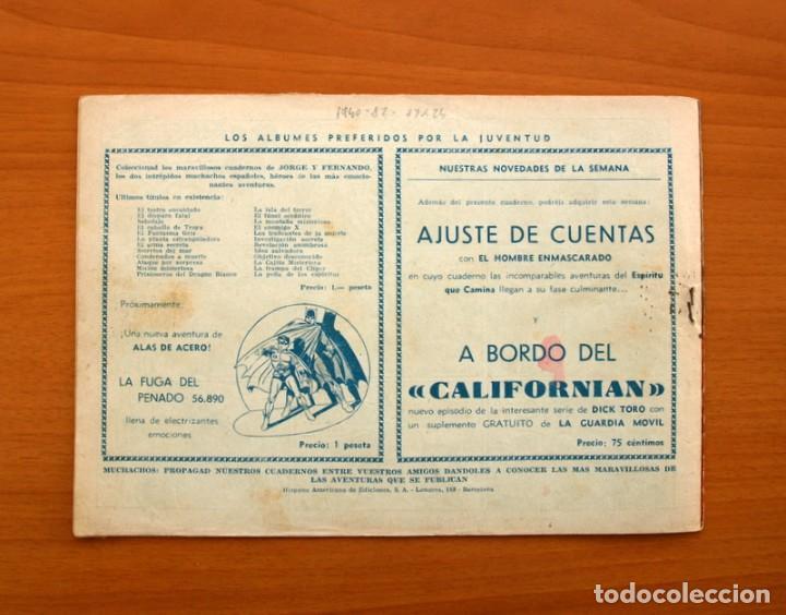 Tebeos: Jorge y Fernando nº 82, El hombre monstruo - Hispano Americana 1940 - Tamaño 17x24 - Foto 6 - 98223799