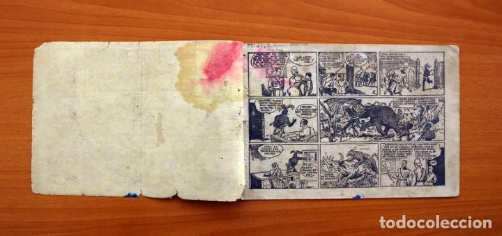 Tebeos: Jorge y Fernando nº 18, Miji el hombre tortuga - Editorial Hispano Americana 1940 - Tamaño 17x24 - Foto 2 - 98224199